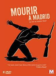 Affiche - Rouge - Mourir à Madrid